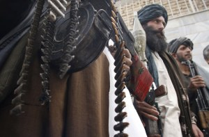 Taliban Fighters prepare to face the enemy