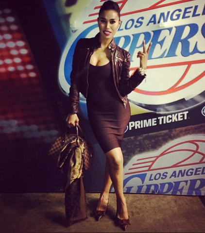 V. Stiviano. Posted on her Instagram profile